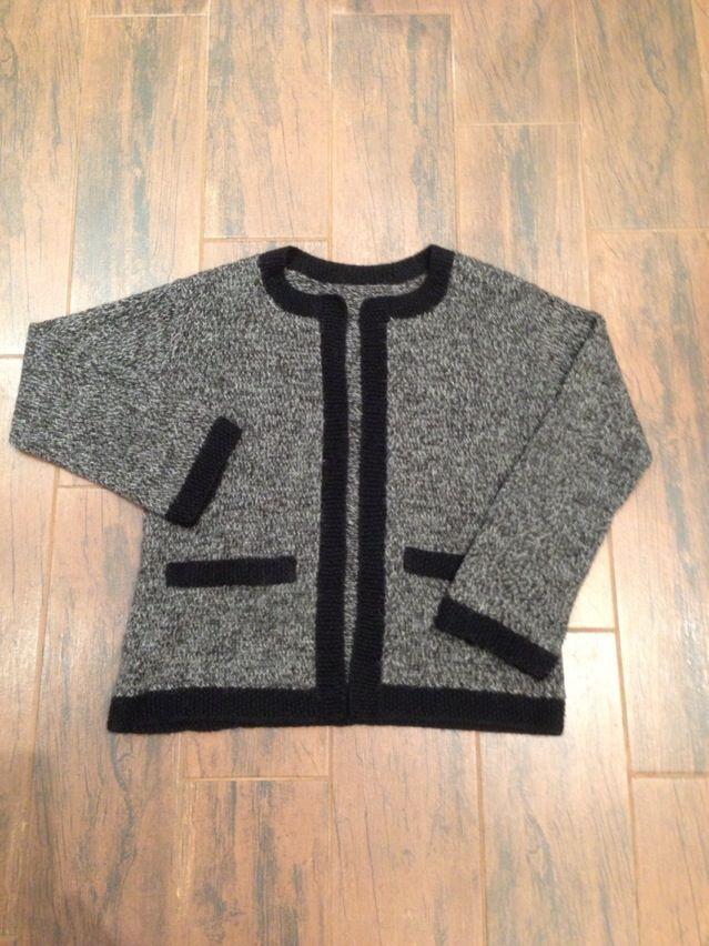 Baby alpaca cardigan - Chanel style