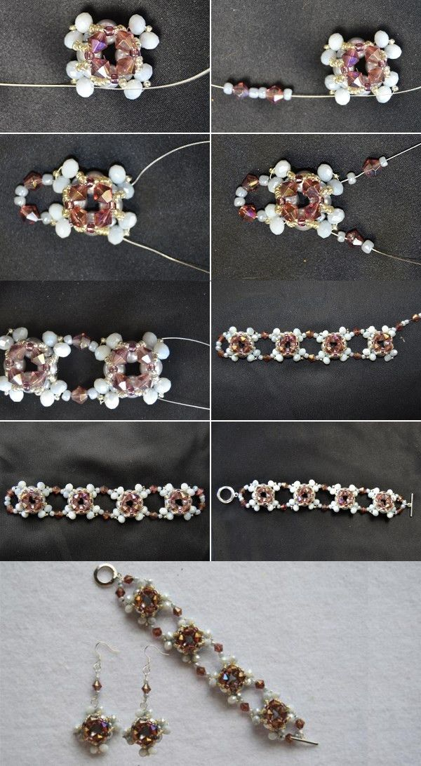 Tutorial on How to Make Bead Wedding Pearl Jewelry Sets With Seed Beads by Your Own Hands from LC.Pandahall.com