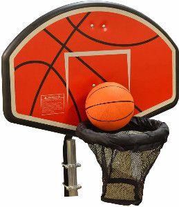 JumpKing Trampoline Basketball Hoop with U-bolt Attachment ACC-BSKU