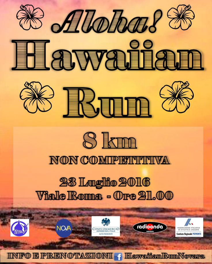 Aloha! Hawaiian Run is coming