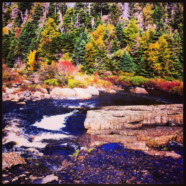 Pretty waterfall on a hike in CBS