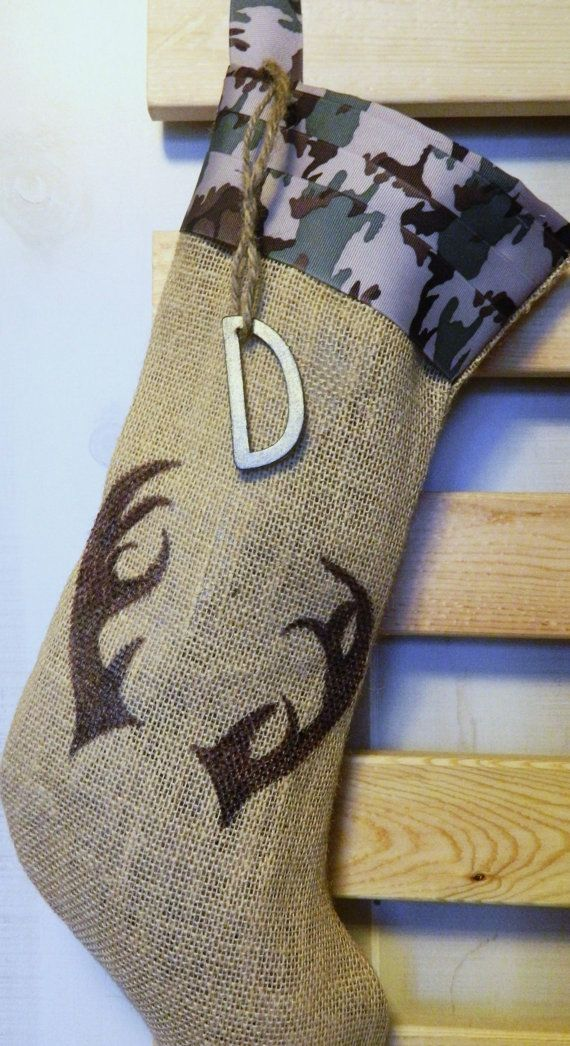 Christmas stocking for the manly man by RedeemedCustomDesign