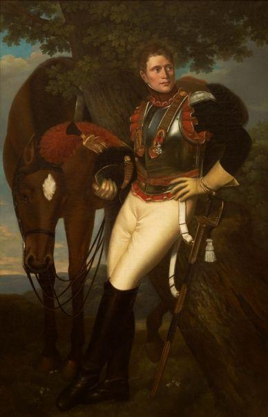 El coracero Jean Baptiste Poret-Dulongval - Colección - Museo Nacional del Prado