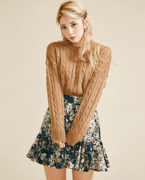 CYBER MONDAY Sale! chuu - Cable-Knit Sweater US$17.78