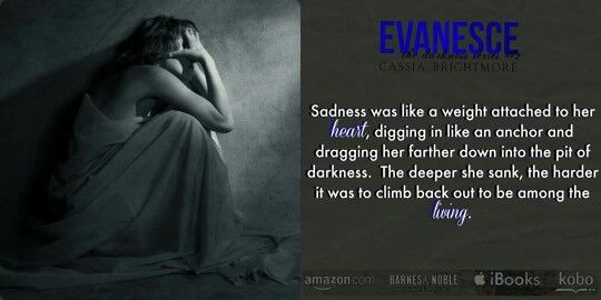 """..✫¸.•°*""""˜˜""""*°•.✫It's #LIVE✫.•°*""""˜˜""""*°•.¸✫.. Evanesce by Cassia Brightmore is NOW LIVE! #Dark #Thriller #Mindfuck """"Gripping and captivating with its depraved darkness. Are you ready to be #WreckedByEvanesce? BUY LINKS Amazon US: http://amzn.to/1Gdty1F Amazon CA: http://amzn.to/1P9vjky Amazon UK: http://amzn.to/1zFiiGg Amazon AU: http://bit.ly/1EmLjOy iTunes: http://apple.co/1yLe70t B&N: http://bit.ly/1eZTbue Kobo: http://bit.ly/1HsgOWj"""