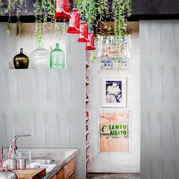 Cutlery Wallpaper by Inka | FEATHR™