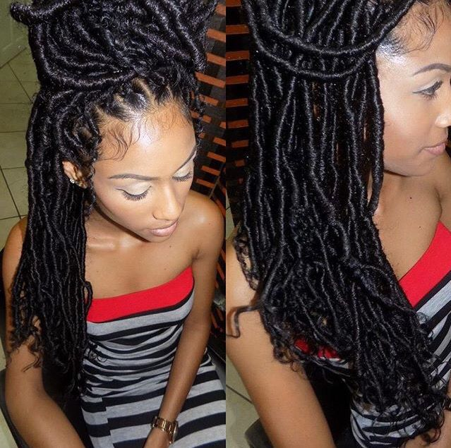 ... about HAIR! on Pinterest Faux locs, Crochet braids and Goddess locs