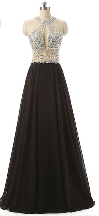 New style - the black chiffon black chiffon dress cant sexy backless dress party dress