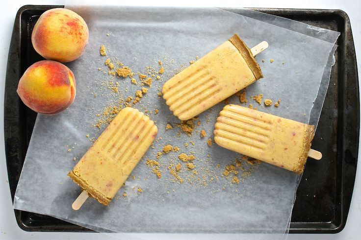 5 Healthier Frozen Summer Treats (Plus, Skinny Peach Pie Popsicle Recipe!) ‹ Hello Healthy
