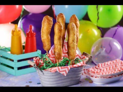 Banderillas con Harina de Hot Cakes