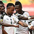 // Le Ghana a composté son billet pour les quarts de finale de la coupe d'Afrique des Nations après avoir signé sond deuxième...