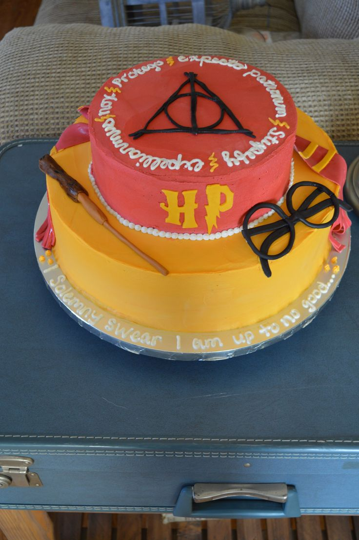 Birthday Cake Ideas Harry Potter : 268 best images about Cakes - Harry Potter on Pinterest ...