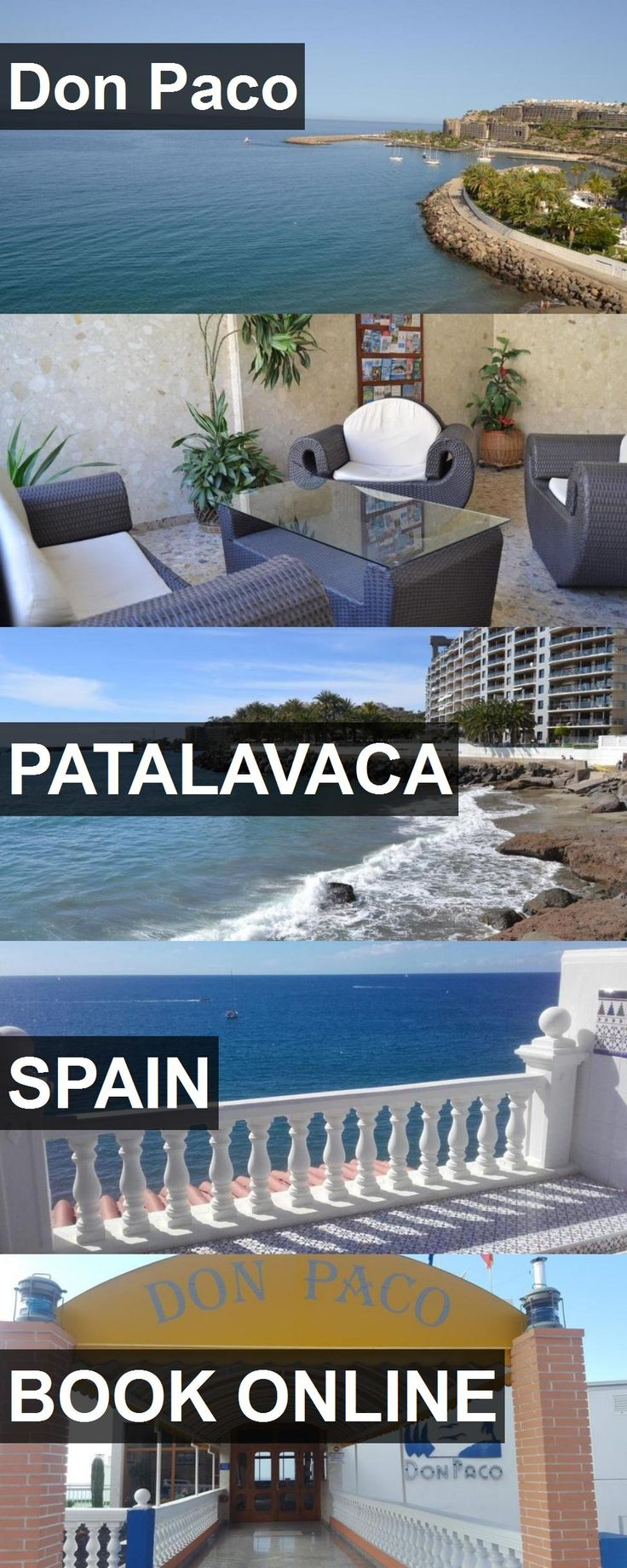 Hotel Don Paco in Patalavaca, Spain. For more information, photos, reviews and best prices please follow the link. #Spain #Patalavaca #travel #vacation #hotel