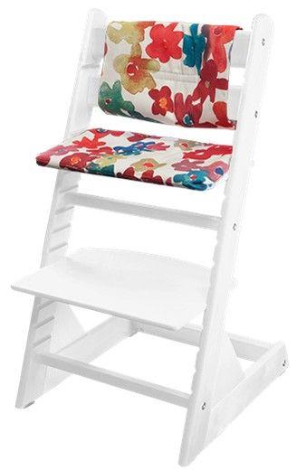 Растущие стульчики Kid-Fix подходят для детей от 6 месяцев и до бесконечности…