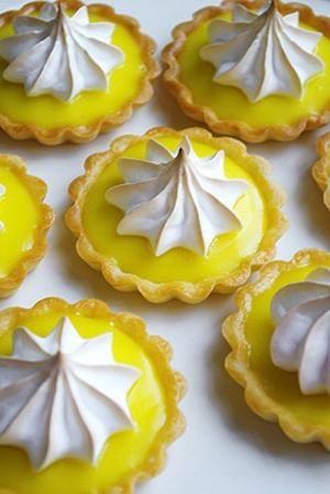 Mini Lemon Tarts by DeeDeeBean