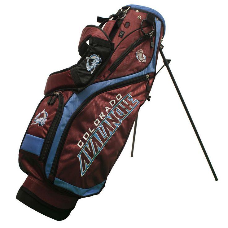 Colorado Avalanche Nassau Stand Golf Bag