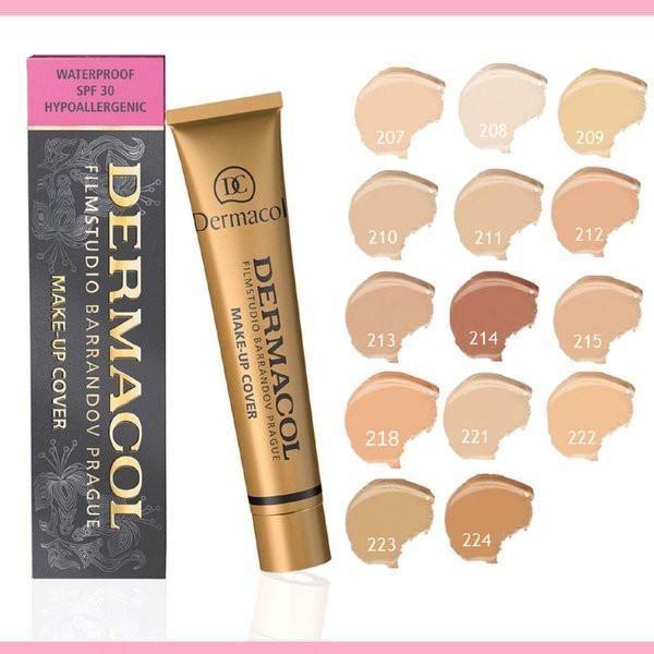 DERMACOL Film Studio Legendary High Covering Makeup Foundation Hypoallergenic