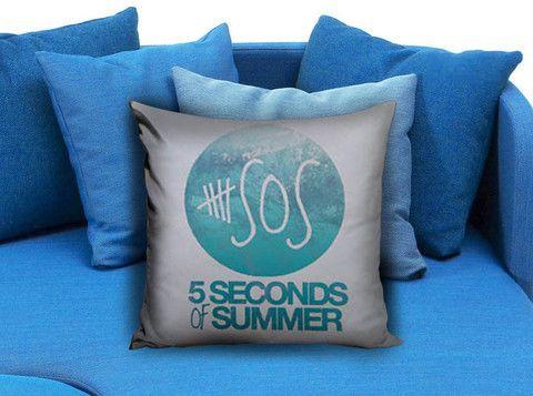5Sos Logo Pillow case  #pillow #case #pillowcase #custompillow #custom