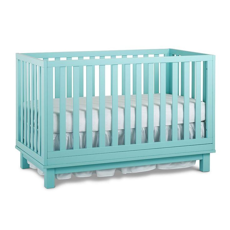 Fisher-Price Riley Island 3-in-1 Convertible Crib, Lt Green