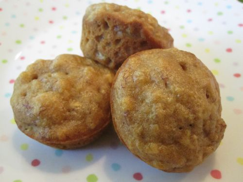 Apple Banana Muffins on Weelicious
