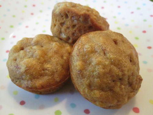 Apple Banana Muffins on Weelicious