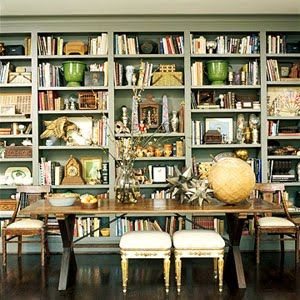 Is this a dual purpose dining room?  They are so good as home office/libraries when not being used for eating!