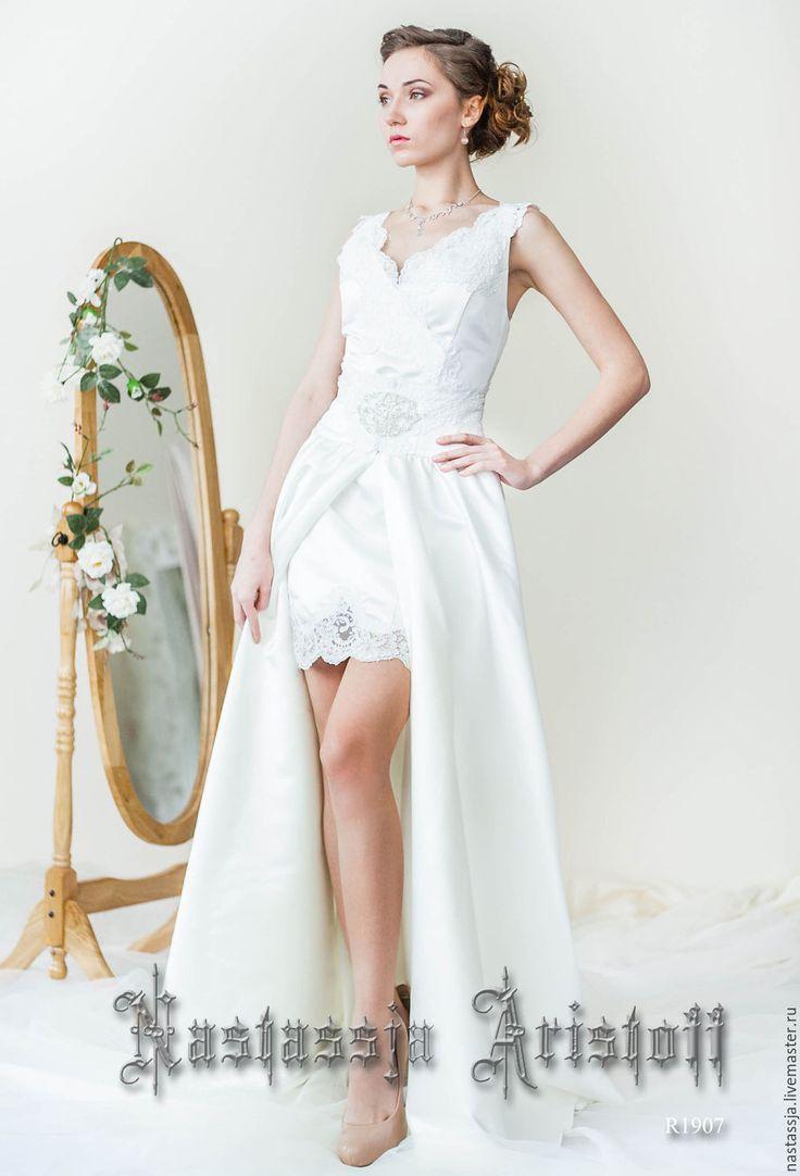 Купить Свадебное Платье - Трансформер. Короткое свадебное платье. - свадьба, свадебное платье, платье трансформер