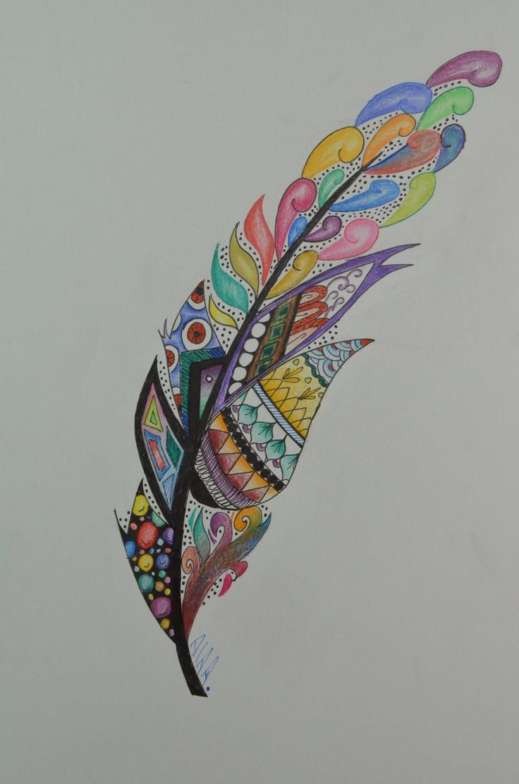 Doodle Feather