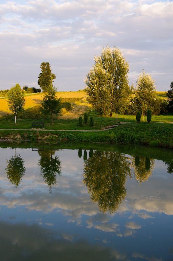 Park Buczyna w Górze Ropczyckiej zachwyca swym pięknem! #Gora_Ropczyca #park #view #landscape