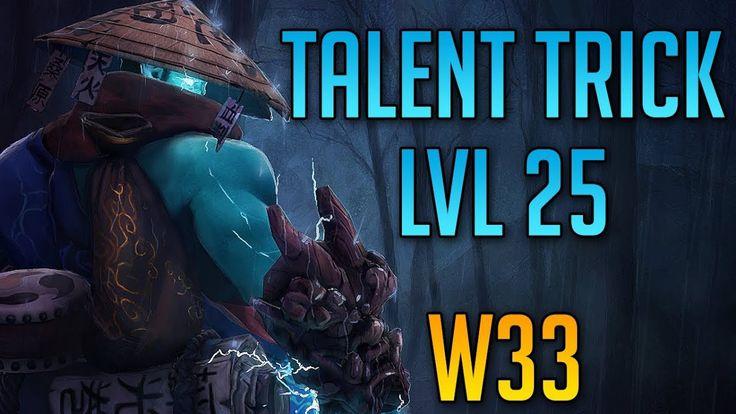 Storm Spirit LVL 25 Talent Trick by W33 | Dota 2 Funny Clips