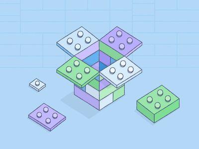 lego-styled dropbox