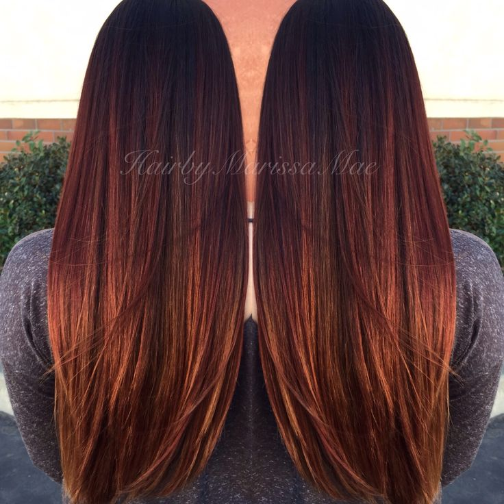 Marissa Mae's red and golden sombre | Salons DirectSalons Direct