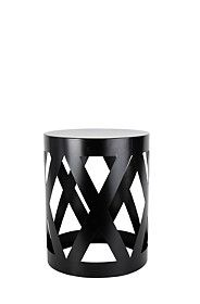 CROSS CUT OUT SIDE TABLE