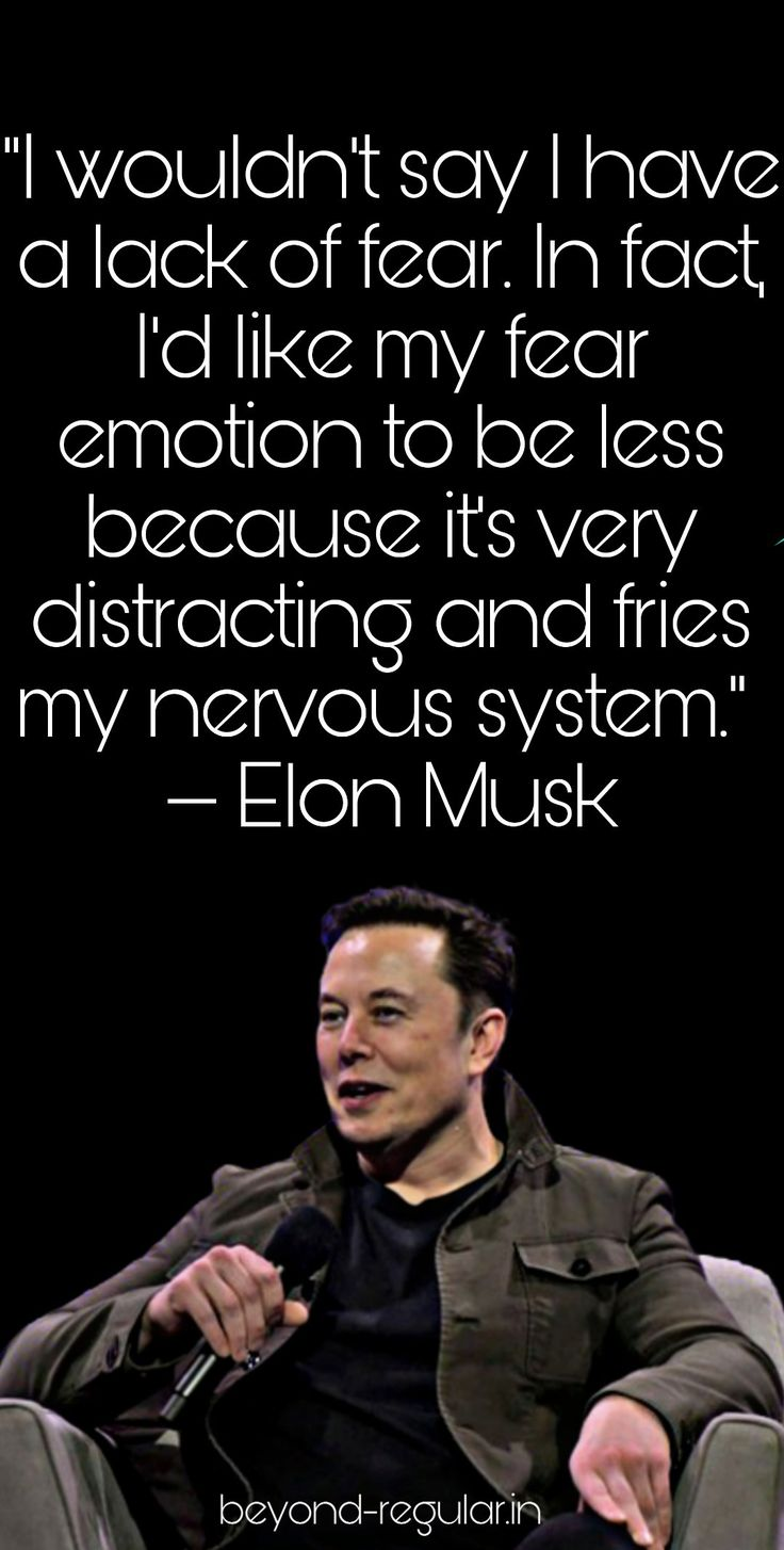 Elon musk quotes in 2020 my emotions how to stop