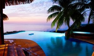 Groupon - 3-, 4-, 5-, 6- or 7-Night Adults-Only Stay for Two with Adventure Packages at Hotel Vista de Olas in Costa Rica in Puntarenas, Costa Rica. Groupon deal price: $599