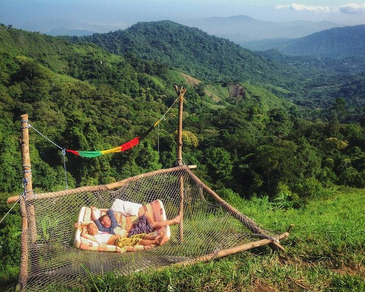 This London heatwave has me dreaming of giant hammocks above the Colombian jungle