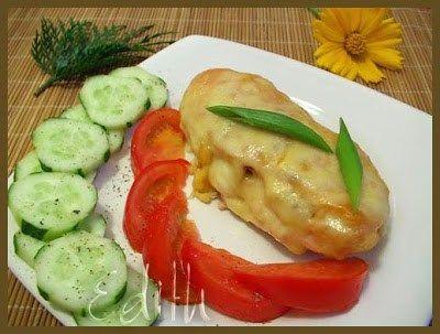 PIEPT DE PUI CU CASCAVAL - Edith's Kitchen