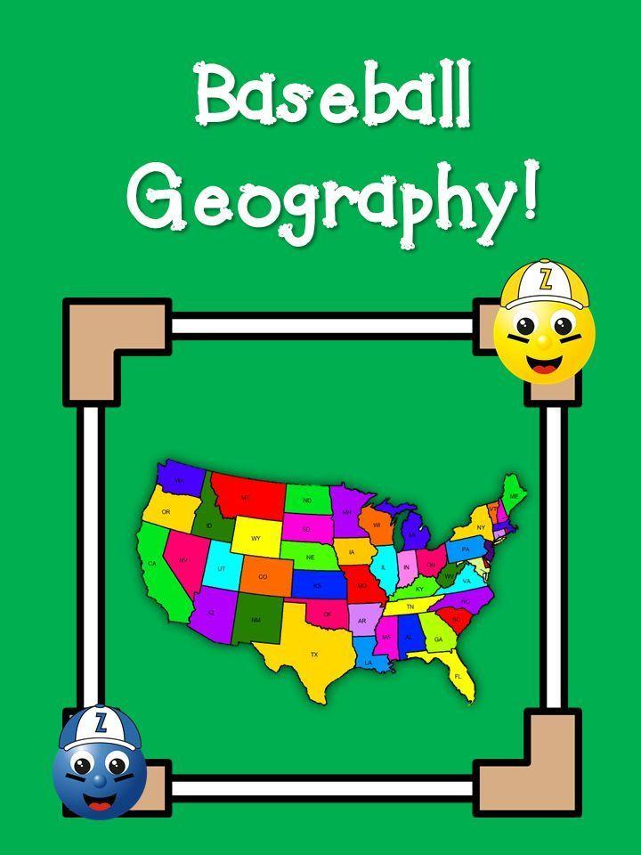 Elementary Matters: Baseball Geography