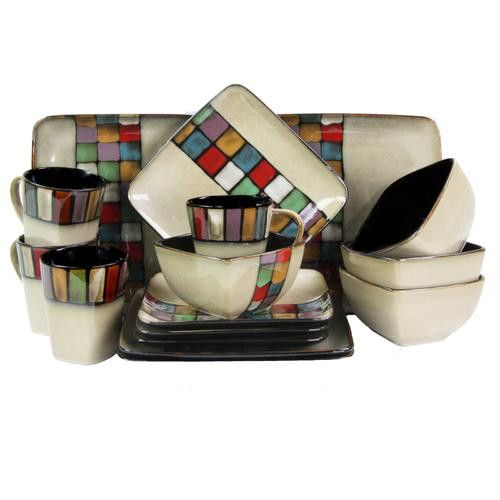New to our store Elama Color Melan.... Take a peek! http://www.fizzyhome.com/products/d970-elmmelange16-elama-color-melange-16-piece-stoneware-dinnerware-set-with-complete-service-for-4?utm_campaign=social_autopilot&utm_source=pin&utm_medium=pin