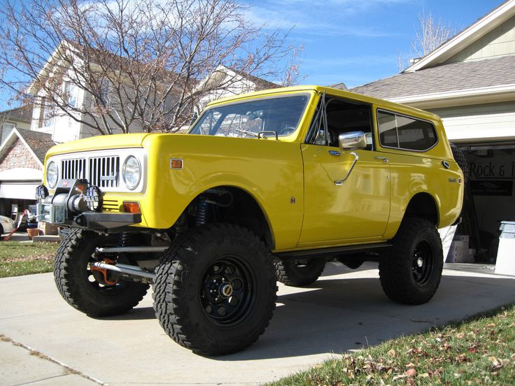 International Harvester Scout 2 Door | eBay