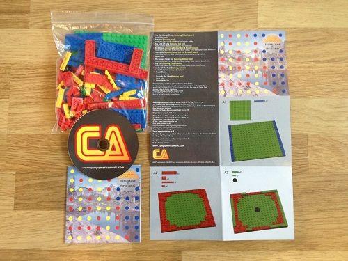 Musician Releases CD Album With DIY LEGO Case - DesignTAXI.com