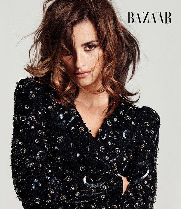 Penelope Cruz for Harper's Bazaar Spain by <strong>все причёски пенелопы круз</strong> Cedric Buchet More