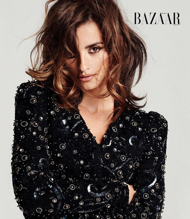 Penelope Cruz for Harper's Bazaar Spain by Cedric Buchet