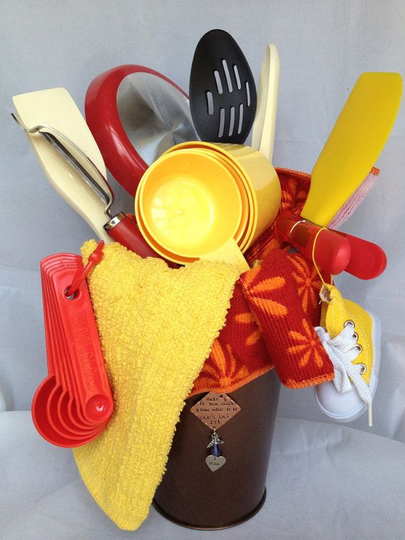 1034 best gift basket ideas images on pinterest gifts for Christmas kitchen gift basket ideas