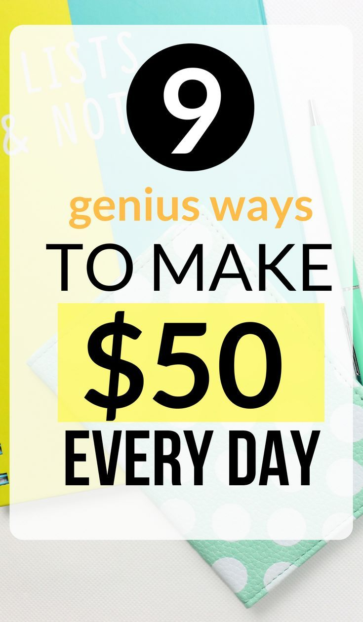 How to Make $50 Fast (Get Fast Cash Today)