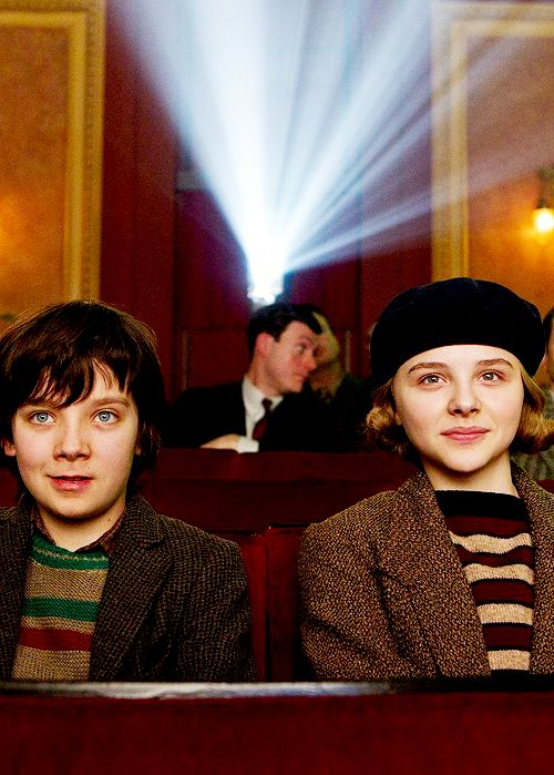 Asa Butterfield and Chloë Moretz | Hugo, Dir. Martin Scorsese, 2011.