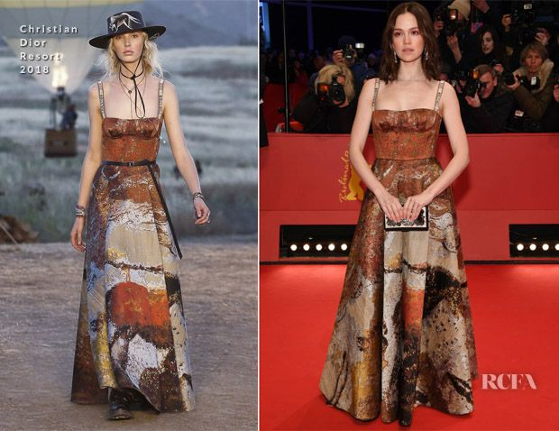 Emilia Schuele In Christian Dior – 'Isle of Dogs' Berlinale International Film Festival Premiere
