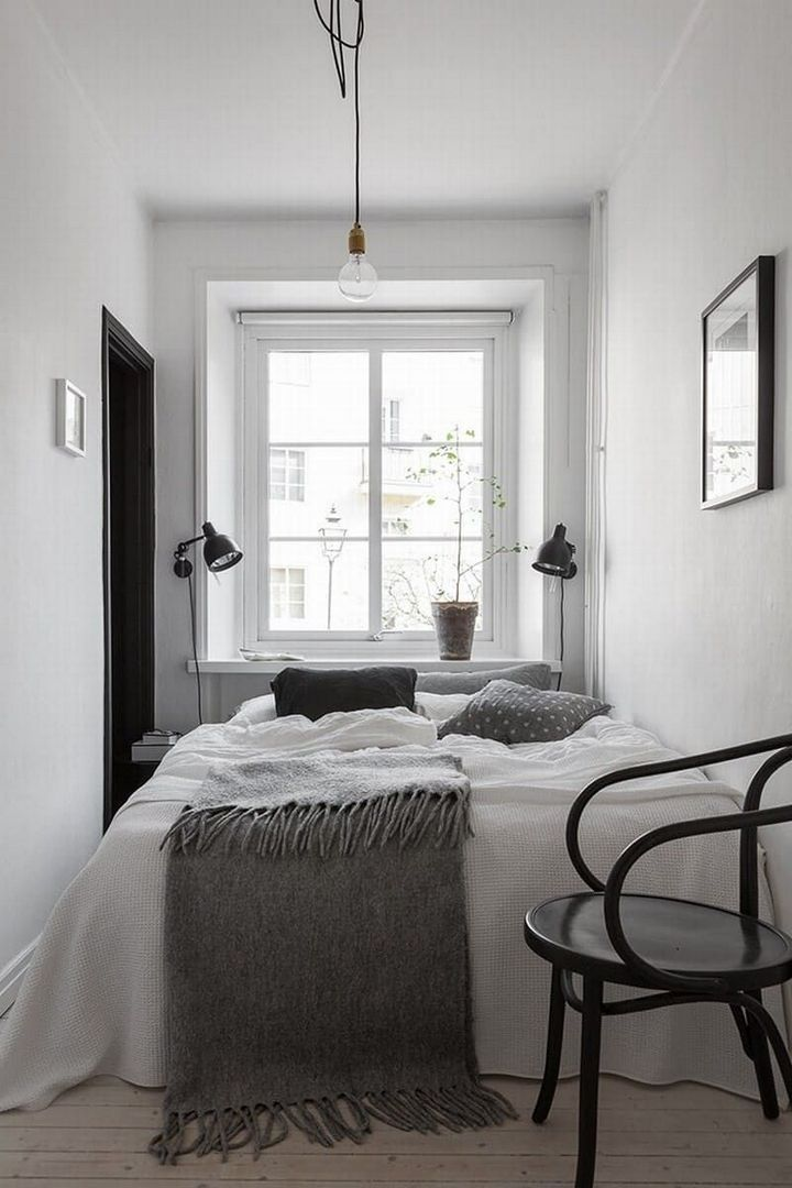 Dreamy Of Minimalist Scandinavian Home Decor Home Decor Ideas Pinterest Bedroom Room And Smal Small Apartment Bedrooms Small Bedroom Decor Small Master Bedroom