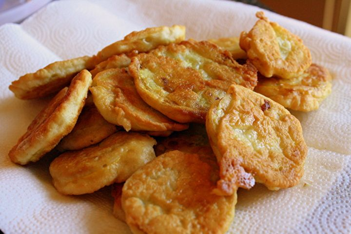 Fried Yellow Crookneck Squash photo