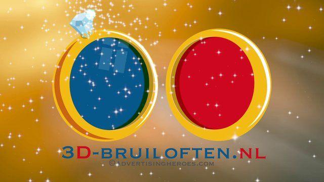 3D Bruiloften.nl is het eerste Nederlandse video-productie bedrijf die met de meest geavanceerde 3D technieken werkt om één van de mooiste dagen van jullie leven vast te leggen.  Voor meer informatie: www.3d-bruiloften.nl